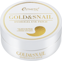 [ESTHETIC HOUSE] Гидрогелевые патчи для глаз ЗОЛОТО/УЛИТКА  Gold&Snail Hydrogel Eye Patch, 60 шт