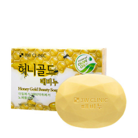 [3W CLINIC] Мыло кусковое МЕД Honey Gold Beauty Soap, 120 гр