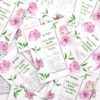[PETITFEE] НАБОР Тканевая маска для лица Tea Tree Rose Calming Mask
