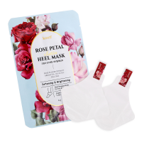 [KOELF] Маски-носочки для ног Rose Petal Satin Heel Mask, 6 гр