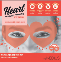 [The MEDIUS] НАБОР Гидрогелевые патчи для глаз ОЧКИ Heart PPYOUNG PPYOUNG Eye patch, 10 шт